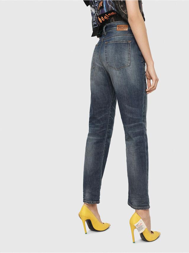 Diesel - D-Eiselle 089AR, Blu Scuro - Jeans - Image 2
