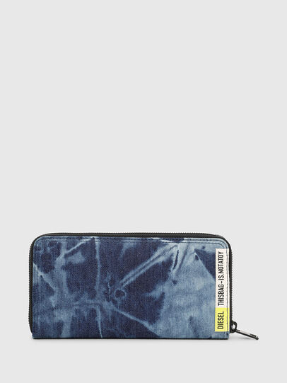 Diesel - 24 ZIP, Blu - Portafogli Con Zip - Image 2