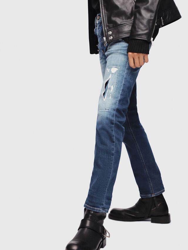 Diesel - Thommer JoggJeans 087AK, Blu medio - Jeans - Image 3