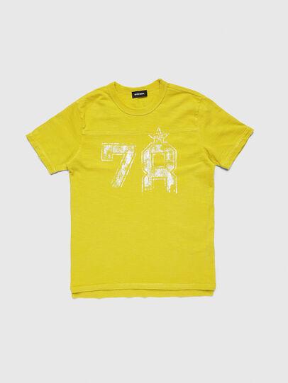 Diesel - TDIEGOCUTA, Giallo - T-shirts e Tops - Image 1