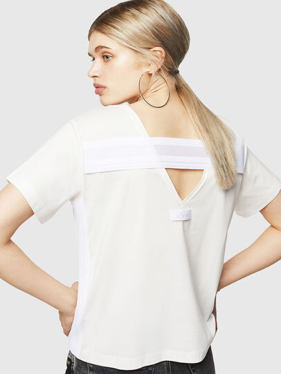 Diesel - T-RYLY, Bianco - T-Shirts - Image 2