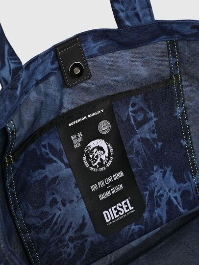 Diesel - D-THISBAG SHOP M, Blu - Shopper e Borse a Spalla - Image 4