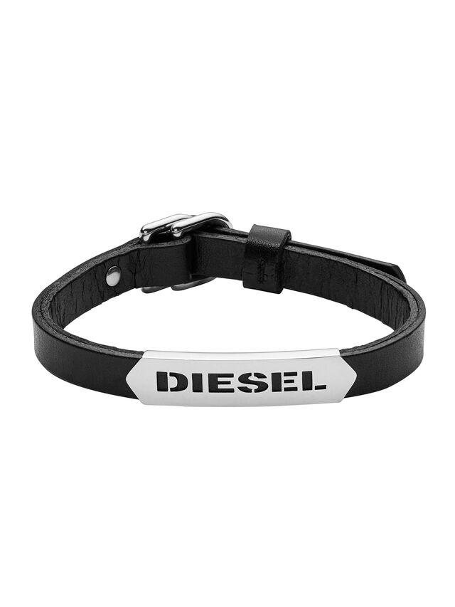 Diesel - BRACELET DX0999, Nero - Braccialetti - Image 1