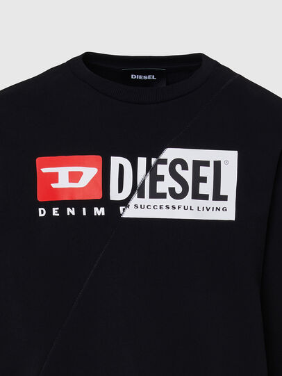 Diesel - S-GIRK-CUTY, Nero - Felpe - Image 3