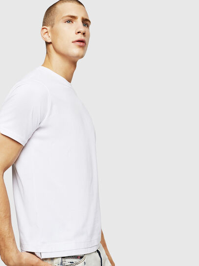 Diesel - T-DIAMANTIK-NEW, Bianco - T-Shirts - Image 4