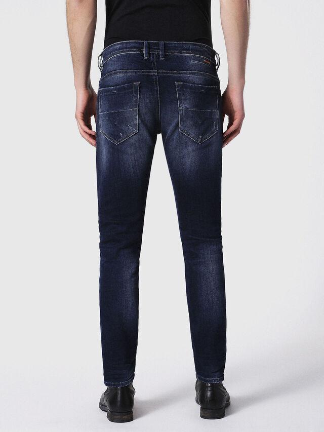 Diesel - Thommer 0860L, Blu Scuro - Jeans - Image 3
