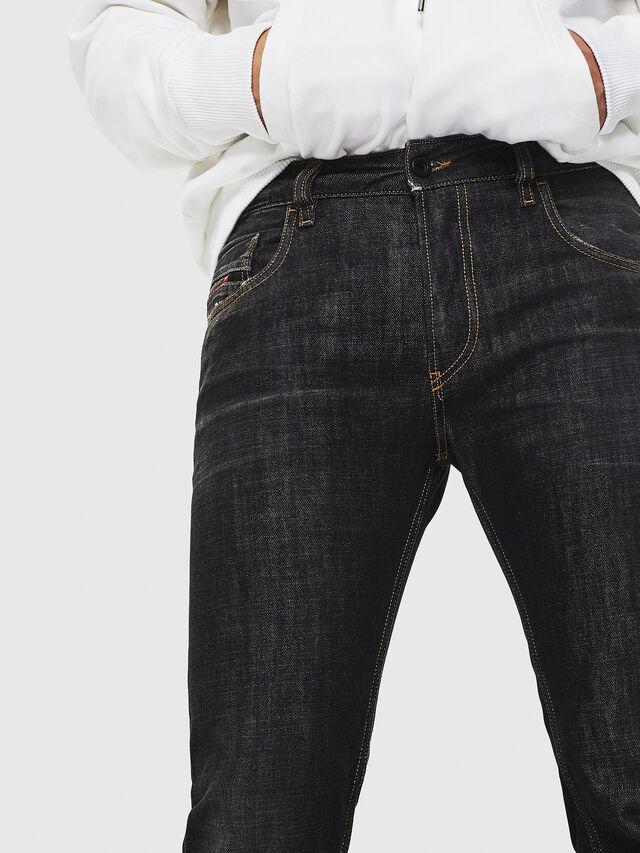 Diesel - D-Ligenz 8880W, Nero/Grigio scuro - Jeans - Image 3