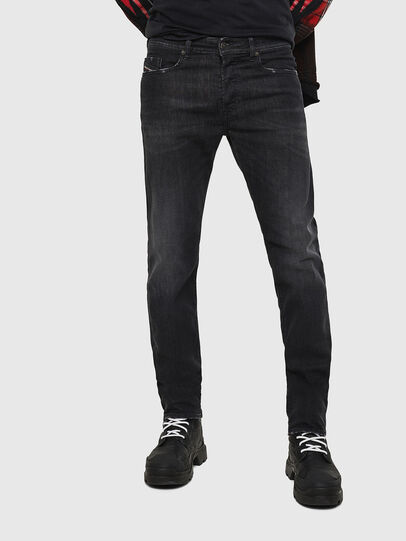 Diesel - Buster 082AS, Nero/Grigio scuro - Jeans - Image 1