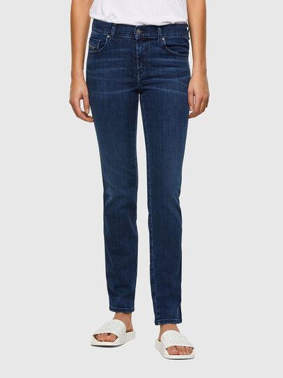 Diesel - Sandy 009QI, Blu Scuro - Jeans - Image 1