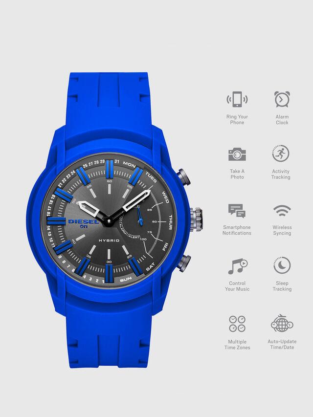 Diesel - DT1017, Blu Brillante - Smartwatches - Image 1