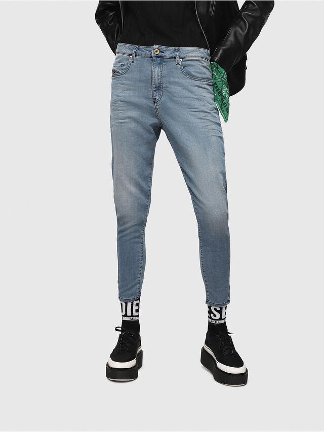Diesel - Candys JoggJeans 069FF, Blu Chiaro - Jeans - Image 1