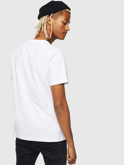 Diesel - T-DIEGO-J25, Bianco - T-Shirts - Image 2