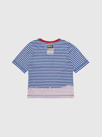 Diesel - TJVANE, Blu/Bianco - T-shirts e Tops - Image 2