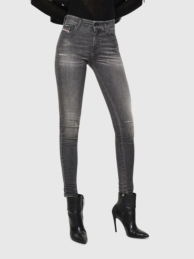 Slandy 083AJ, Nero/Grigio scuro - Jeans