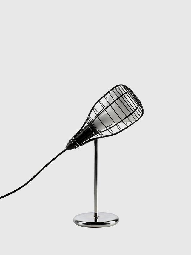 Diesel - CAGE MIC NERO, Nero - Lampade da Tavolo - Image 1