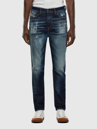 Diesel - D-Vider 0092I, Blu Scuro - Jeans - Image 1