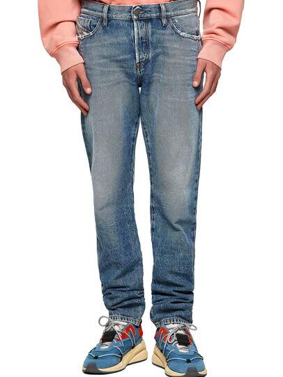 Diesel - D-Kras 09A24, Blu medio - Jeans - Image 1
