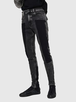 D-Amny 0890T, Nero/Grigio scuro - Jeans
