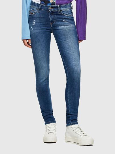 Diesel - Slandy 009PU, Blu medio - Jeans - Image 1