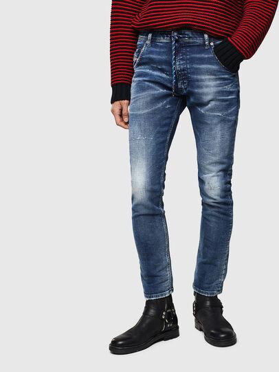 Diesel - Krooley JoggJeans 0096M, Blu Scuro - Jeans - Image 1