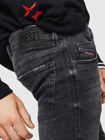 Diesel - Sleenker 084AT, Nero/Grigio scuro - Jeans - Image 5