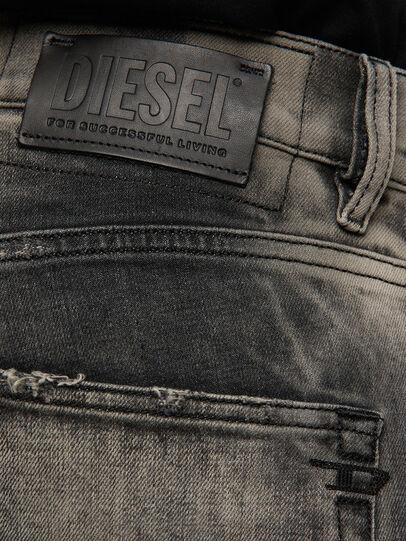 Diesel - D-Strukt 009EV, Nero/Grigio scuro - Jeans - Image 4