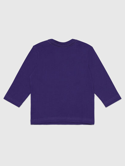 Diesel - TJUSTLOGOB-FL ML, Viola - T-shirts e Tops - Image 2