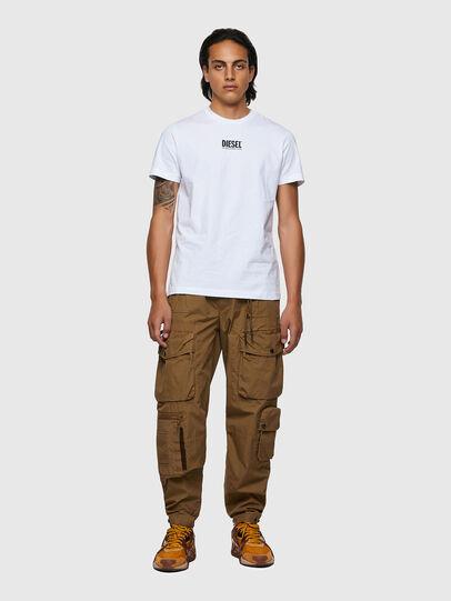 Diesel - T-DIEGOS-ECOSMALLOGO, Bianco - T-Shirts - Image 4