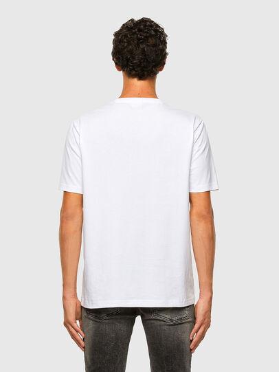 Diesel - T-JUST-X65, Bianco - T-Shirts - Image 5