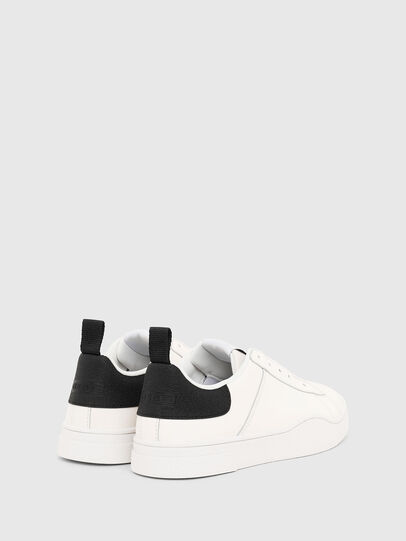 Diesel - S-CLEVER SO W, Bianco/Nero - Sneakers - Image 3