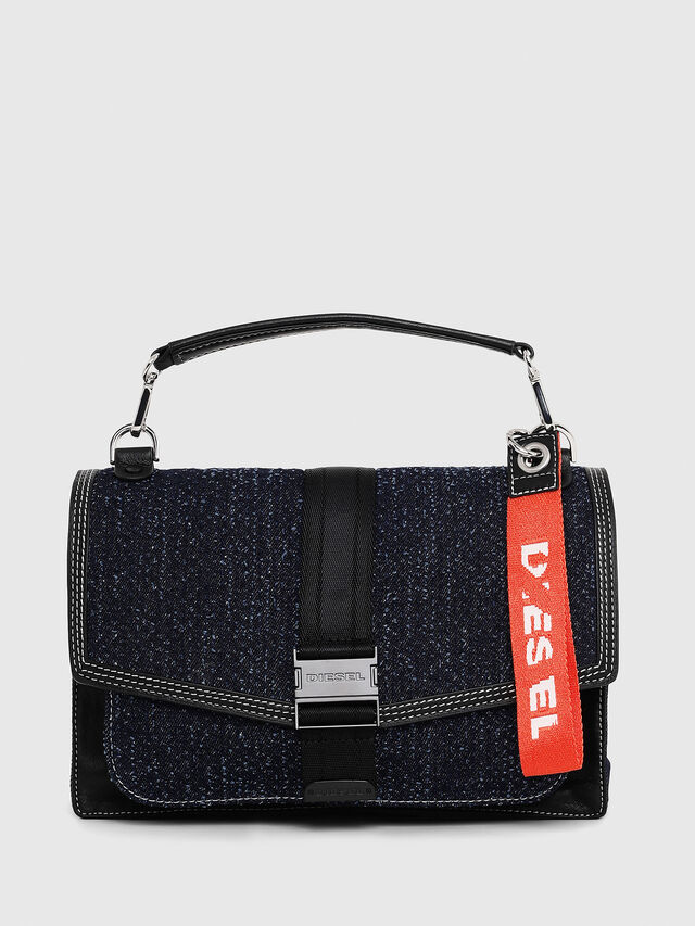 Diesel - MISS-MATCH CROSSBODY, Blu Jeans - Borse a tracolla - Image 1