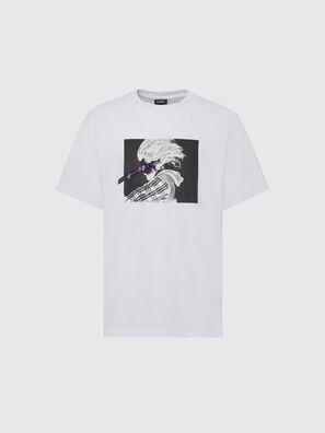 T-TUBOLAR-X20, Bianco - T-Shirts