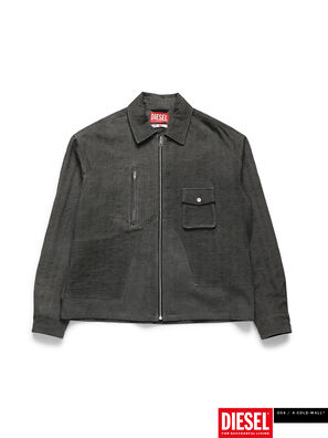ACW-SH02, Nero - Camicie in Denim