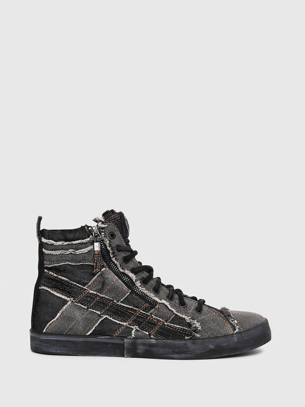 D-VELOWS MID LACE, Grigio Jeans - Sneakers