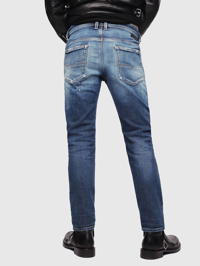 Diesel - Thommer JoggJeans 087AK, Blu Scuro - Jeans - Image 2