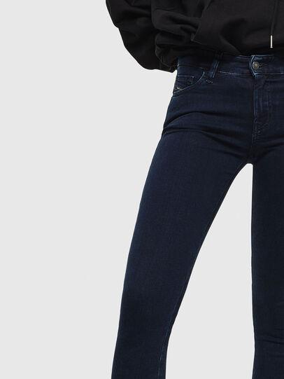 Diesel - Slandy 0094Y, Blu Scuro - Jeans - Image 3