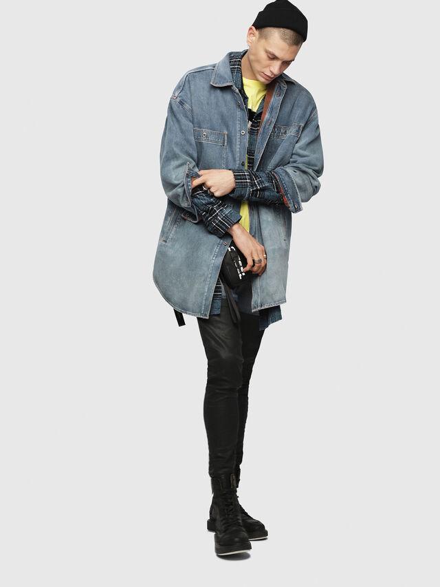 Diesel - D-LOREN, Blu Jeans - Giacche in denim - Image 6