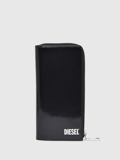 Diesel - L-24 ZIP, Nero - Portafogli Con Zip - Image 1