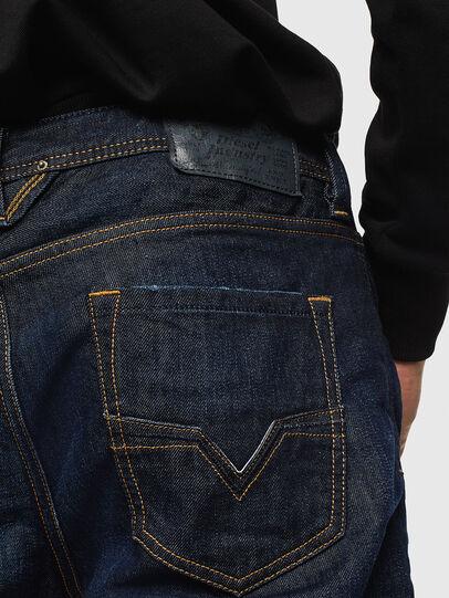 Diesel - Larkee 0806W, Blu Scuro - Jeans - Image 4