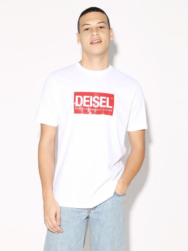 Diesel - DEIS-JUST, Bianco - T-Shirts - Image 2