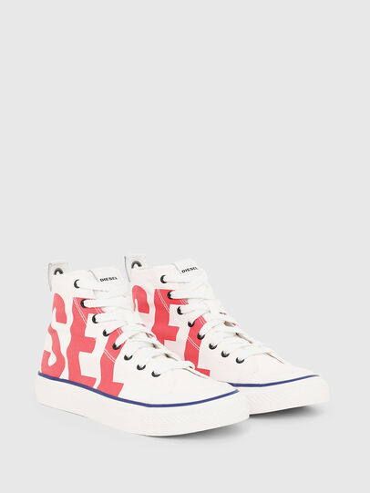 Diesel - S-ASTICO MC W, Bianco/Rosso - Sneakers - Image 2
