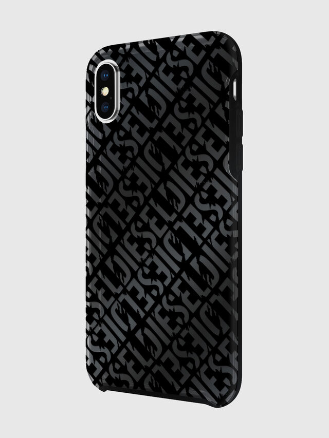 Diesel - DIESEL PRINTED CO-MOLD CASE FOR IPHONE XS & IPHONE X, Nero - Cover - Image 5