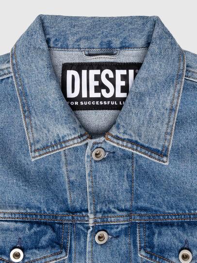 Diesel - US-NHILL-POP1, Blu medio - Giacche in denim - Image 5
