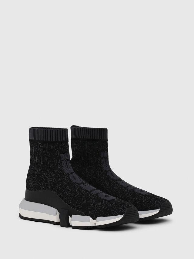 Diesel - H-PADOLA MID SOCK, Nero - Sneakers - Image 2