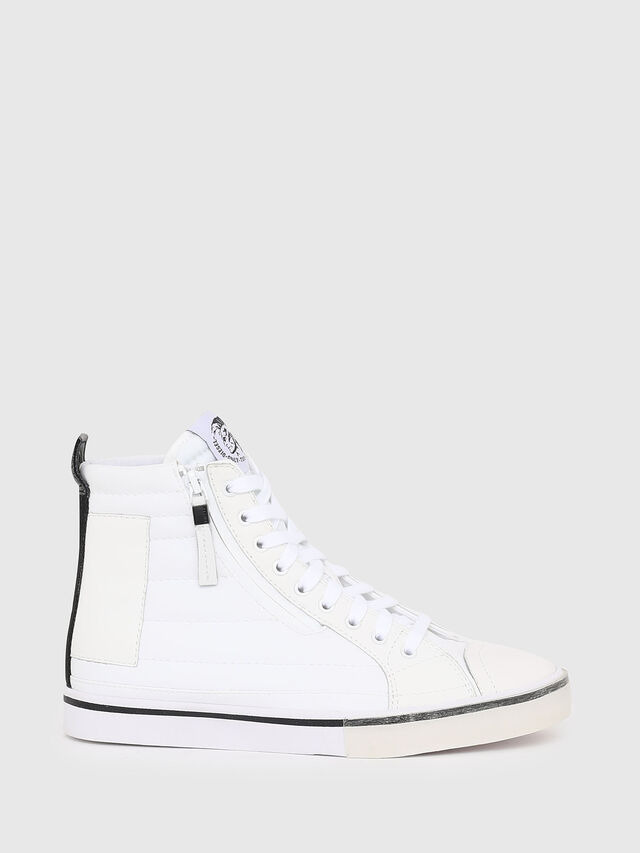 Diesel - D-VELOWS MID PATCH W, Bianco - Sneakers - Image 1