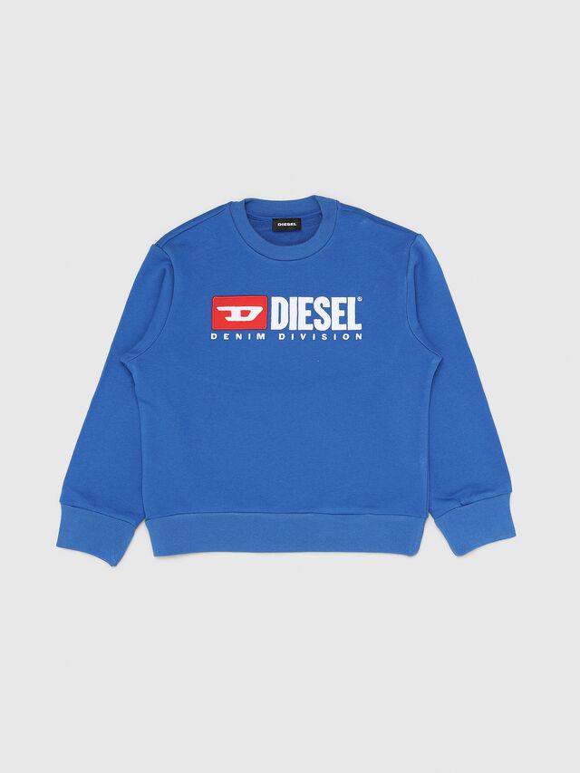 Diesel - SCREWDIVISION OVER, Blu Ceruleo - Felpe - Image 1