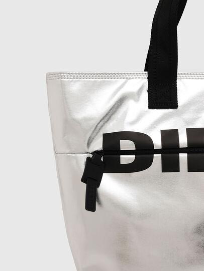 Diesel - F-BOLD SHOPPER II, Argento - Shopper e Borse a Spalla - Image 4