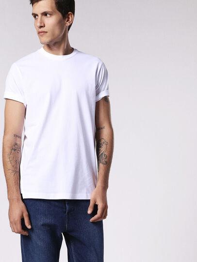Diesel - T-DANIEL, Bianco - T-Shirts - Image 3