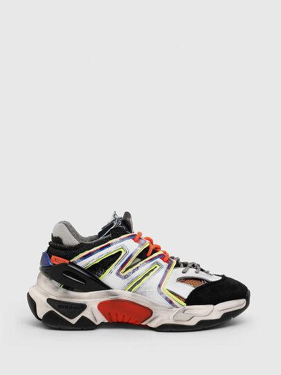 Diesel - S-KIPPER SK, Bianco/Nero - Sneakers - Image 1