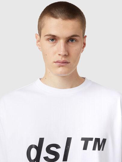 Diesel - T-BALM, Bianco - T-Shirts - Image 3